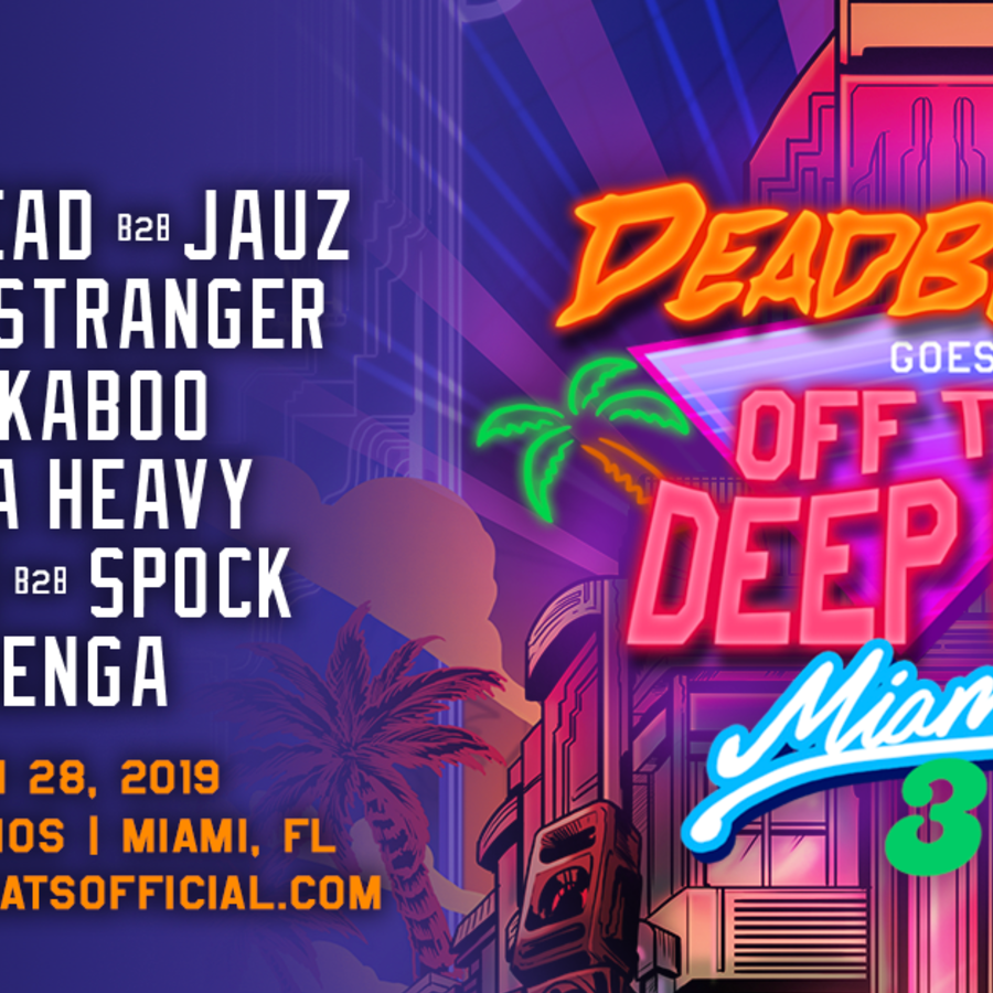 Deadbeats Goes off the Deep End Miami III Image