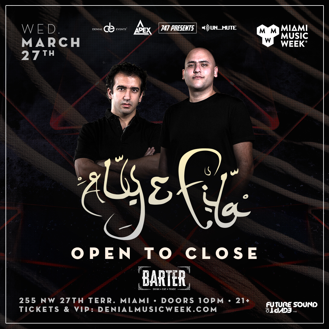 Aly & Fila | OPEN TO CLOSE Flyer