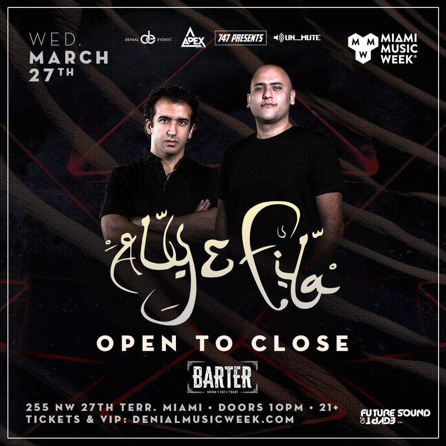Aly & Fila | OPEN TO CLOSE Image