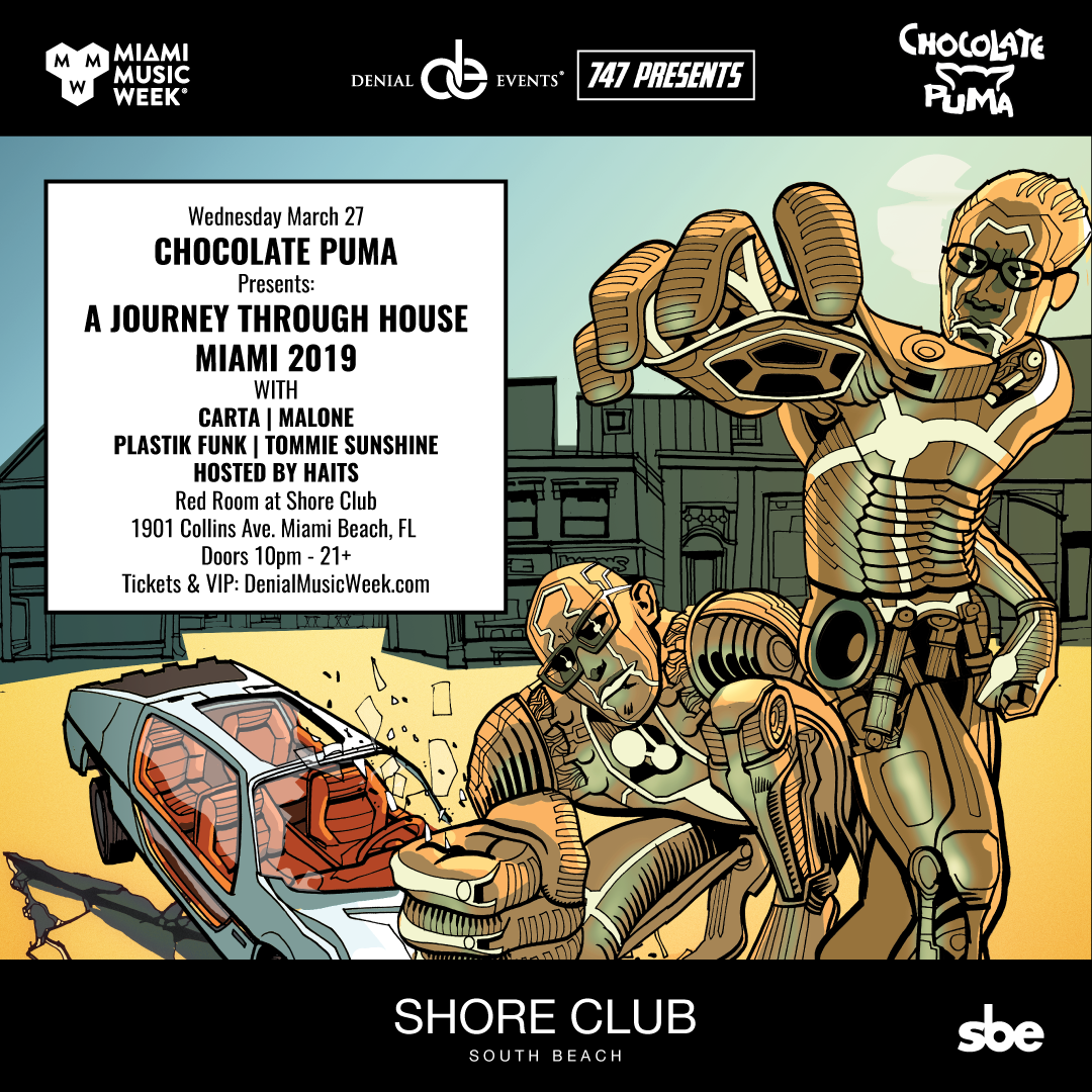 Chocolate Puma presents A Journey Through House Flyer