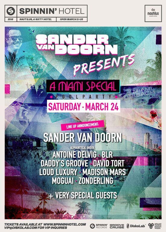 Sander van Doorn: A Miami Special Image