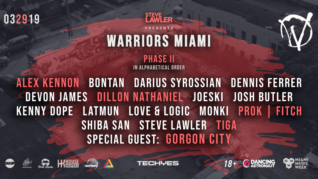 Steve Lawler presents: Warriors Miami Image