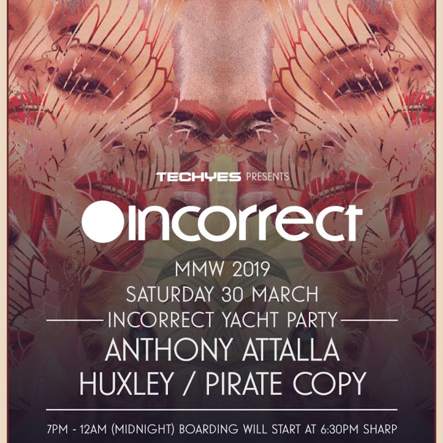 Incorrect Yacht Party ft: Anthony Attalla Huxley Pirate Copy  Image