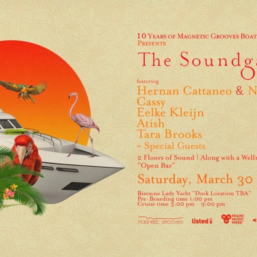 Magnetic Grooves 10 Year Anniversary presenting the Soundgarden Cruise Image