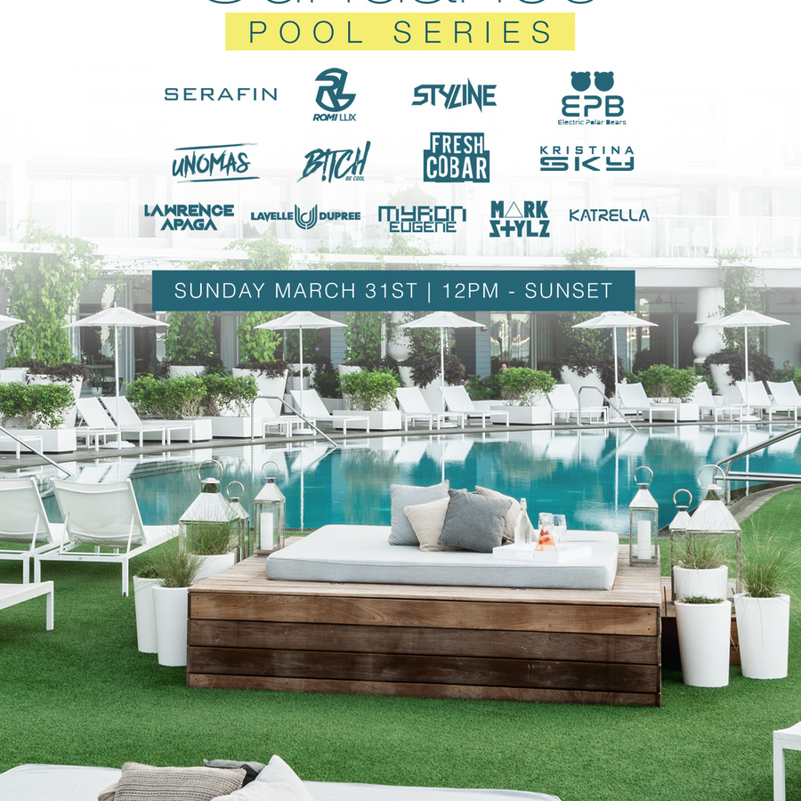 ROMI LUX + SERAFIN PRESENTS SUNDANCE CLOSING POOL PARTY Image