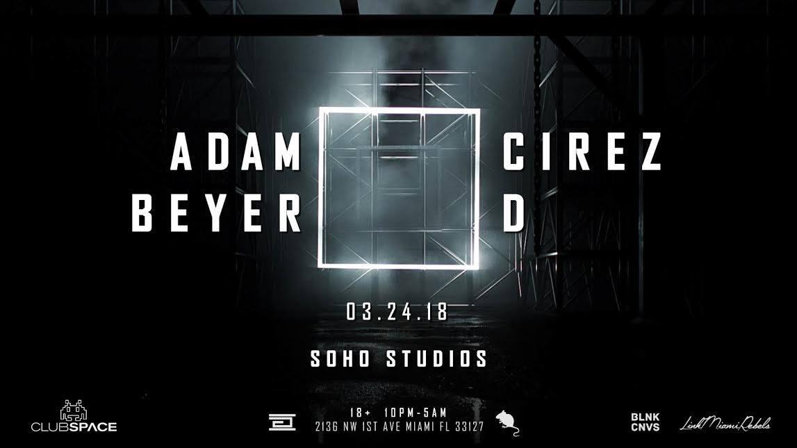 Adam Beyer x Cirez D Image