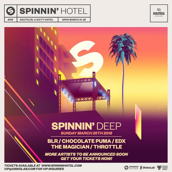 Spinnin' Deep Miami 2018 Image