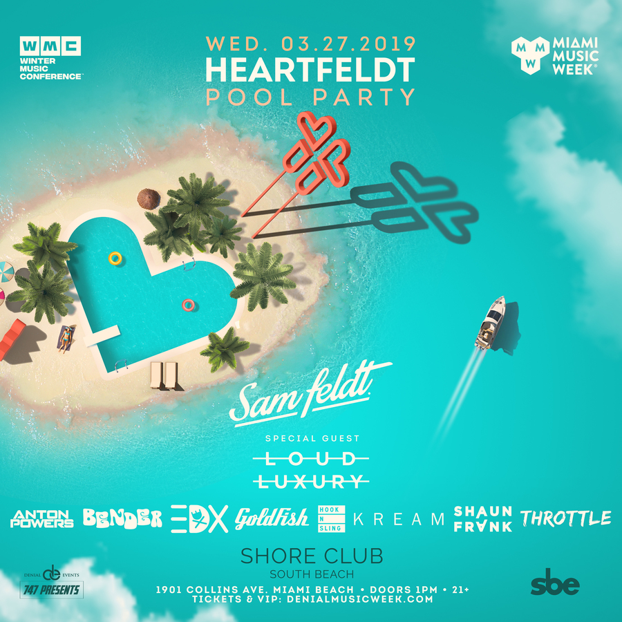 Sam Feldt presents Heartfeldt Pool Party Image