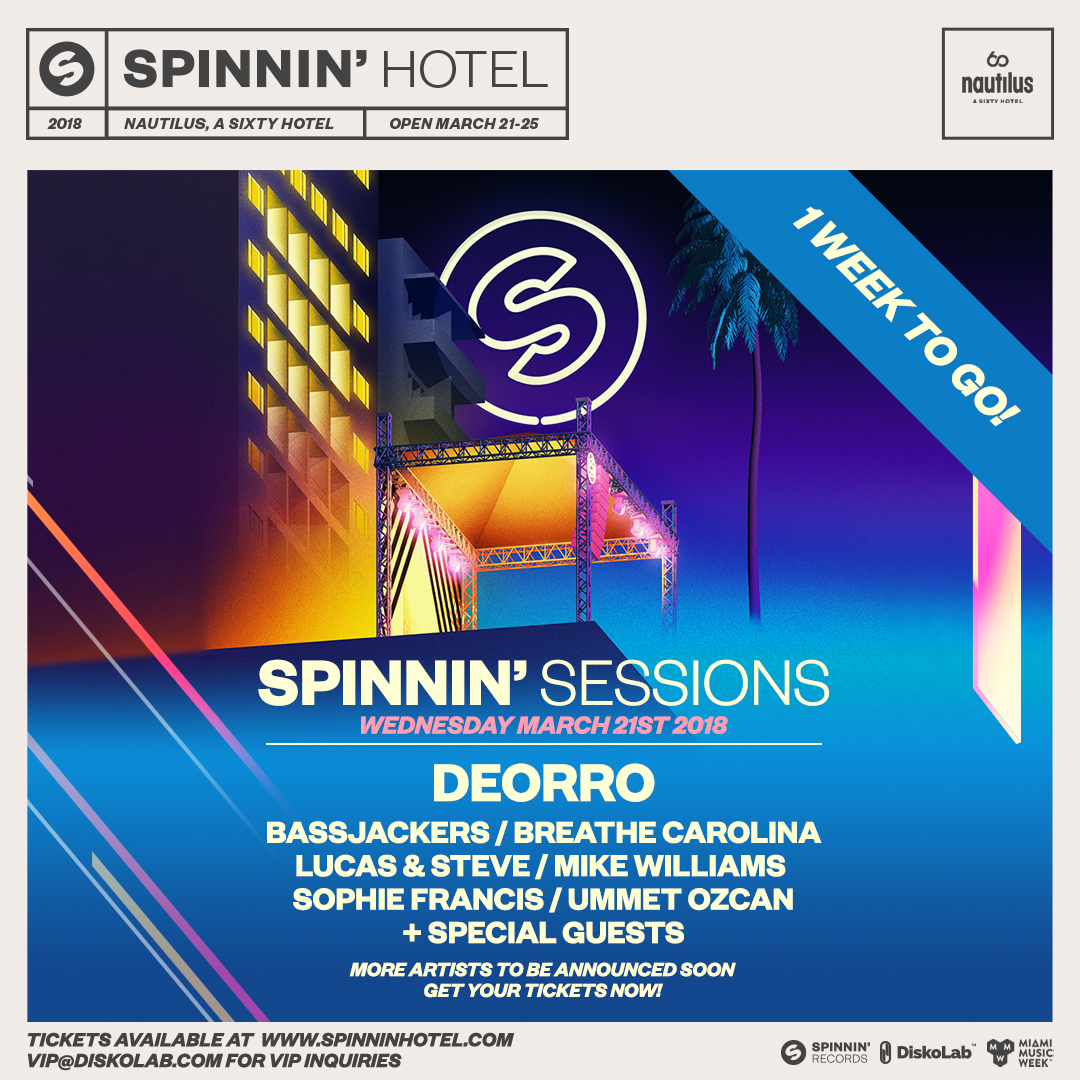 Spinnin' Sessions 2018 Image