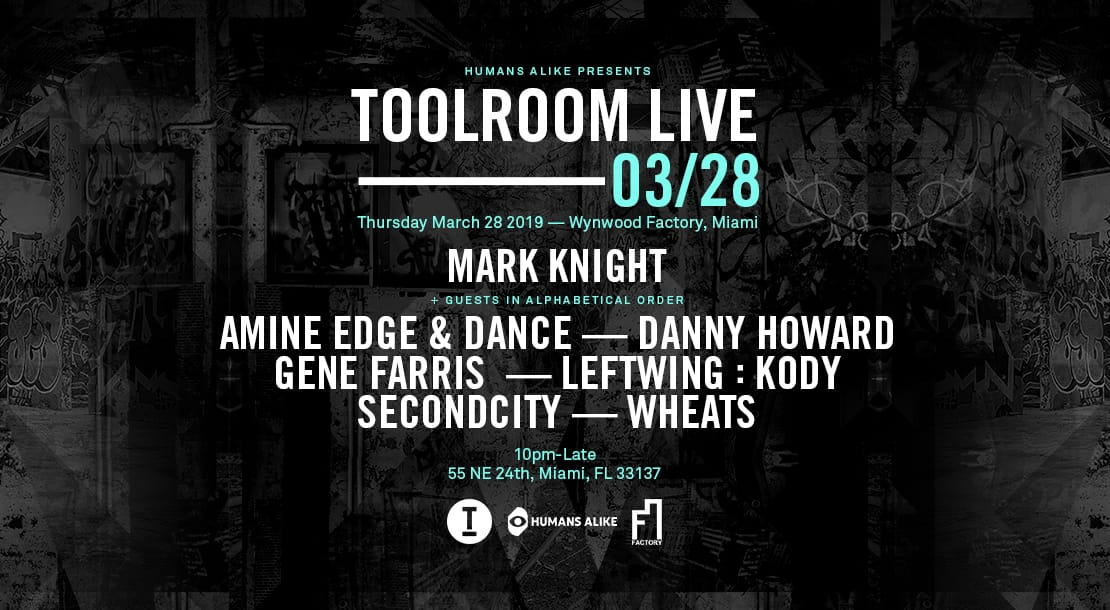 Mark Knight presents Toolroom Live (East Room) Image