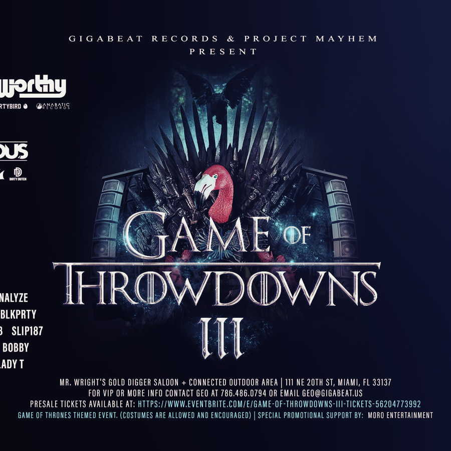 Game Of Throwdowns III Image