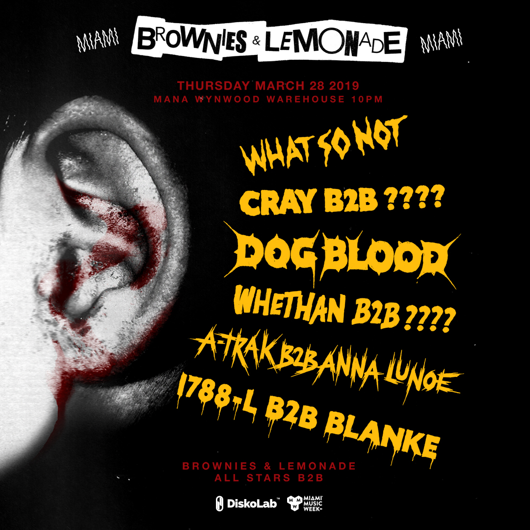 Brownies & Lemonade Miami: Dog Blood Image