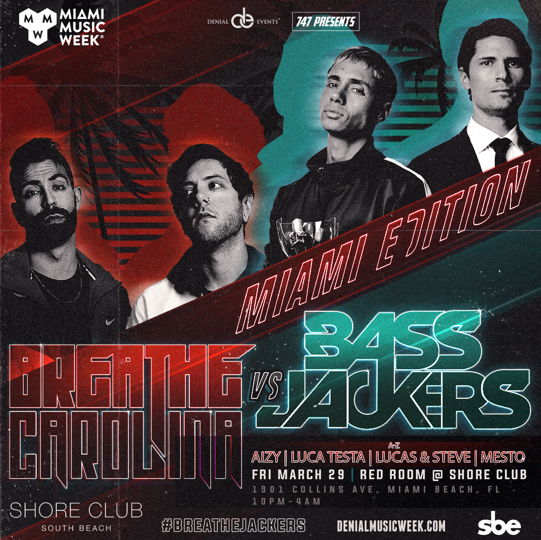 Bassjackers & Breathe Carolina present Breathejackers Image