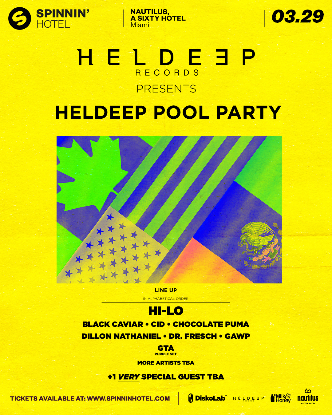 Heldeep Pool Party at Spinnin' Hotel Image