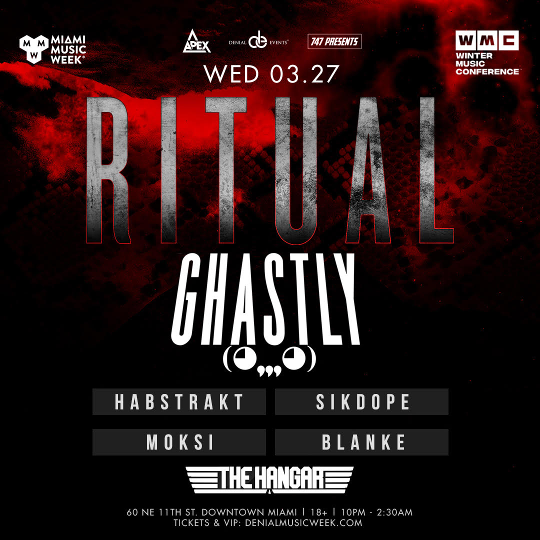 Ghastly presents Ritual Flyer