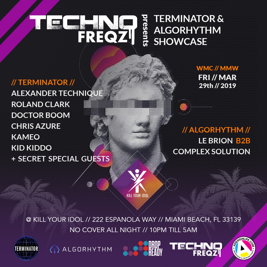 Techno Freqz pres. Terminator Records & Algorhythm Showcase Image