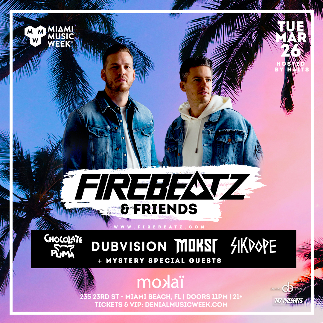 Firebeatz and Friends Flyer
