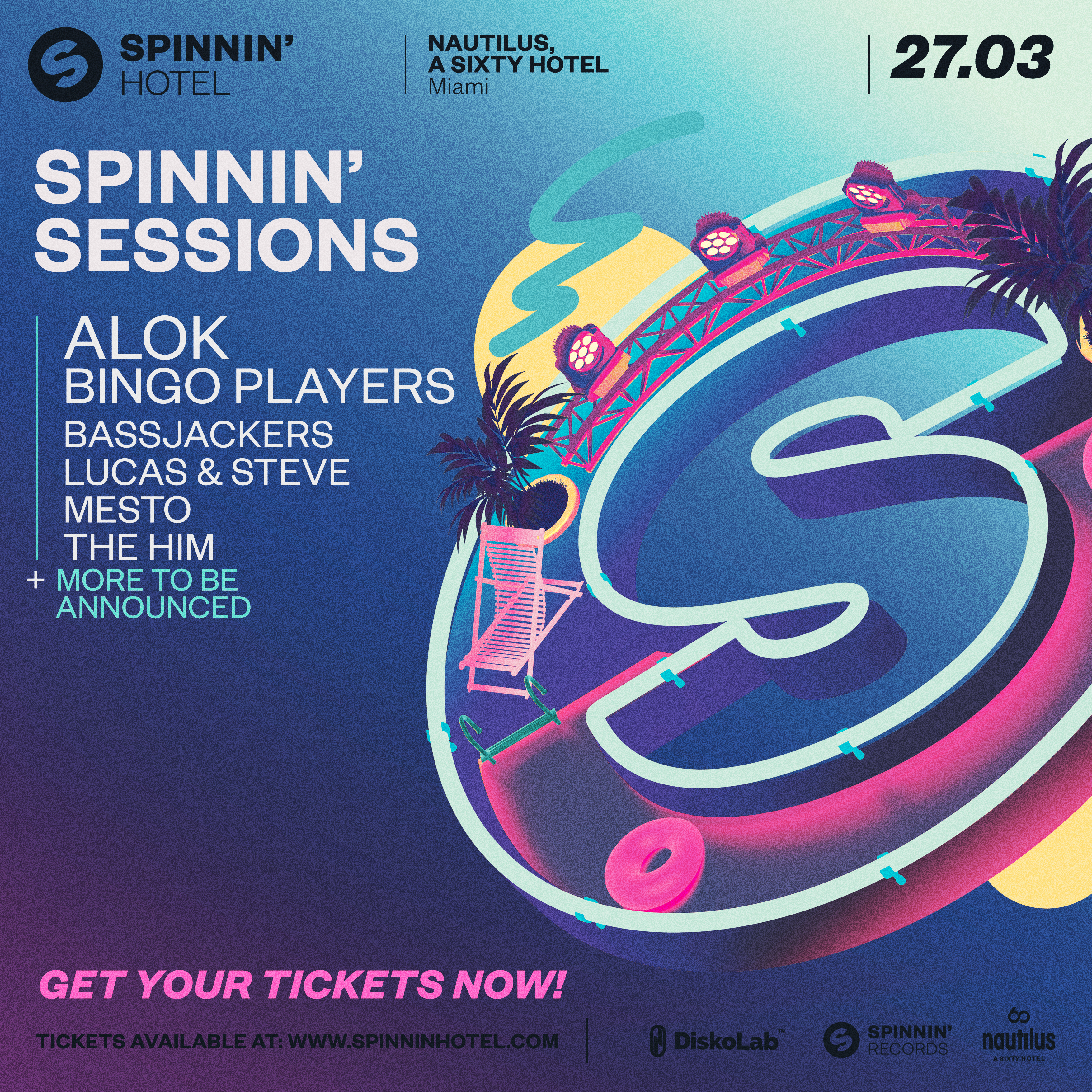 Spinnin' Sessions at Spinnin' Hotel Image