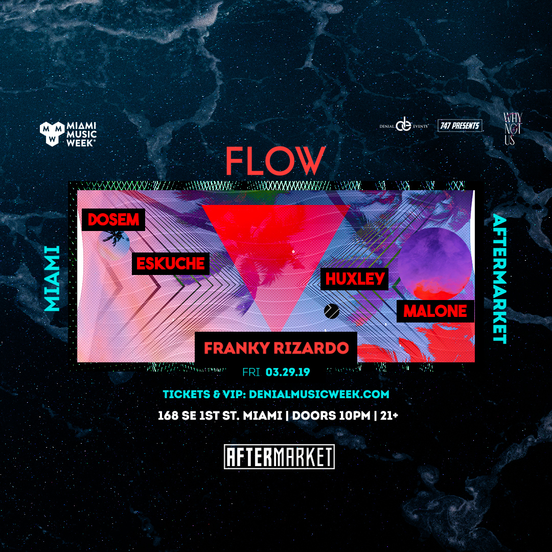Franky Rizardo presents Flow Image