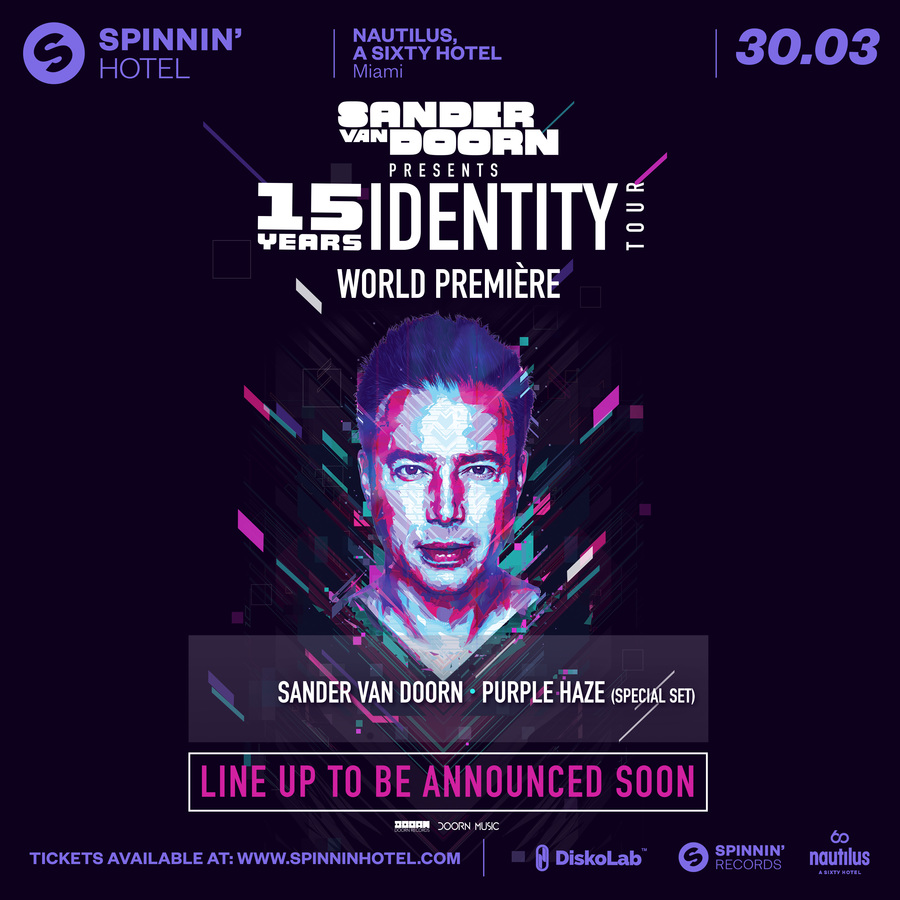 Sander van Doorn Presents at Spinnin' Hotel Image