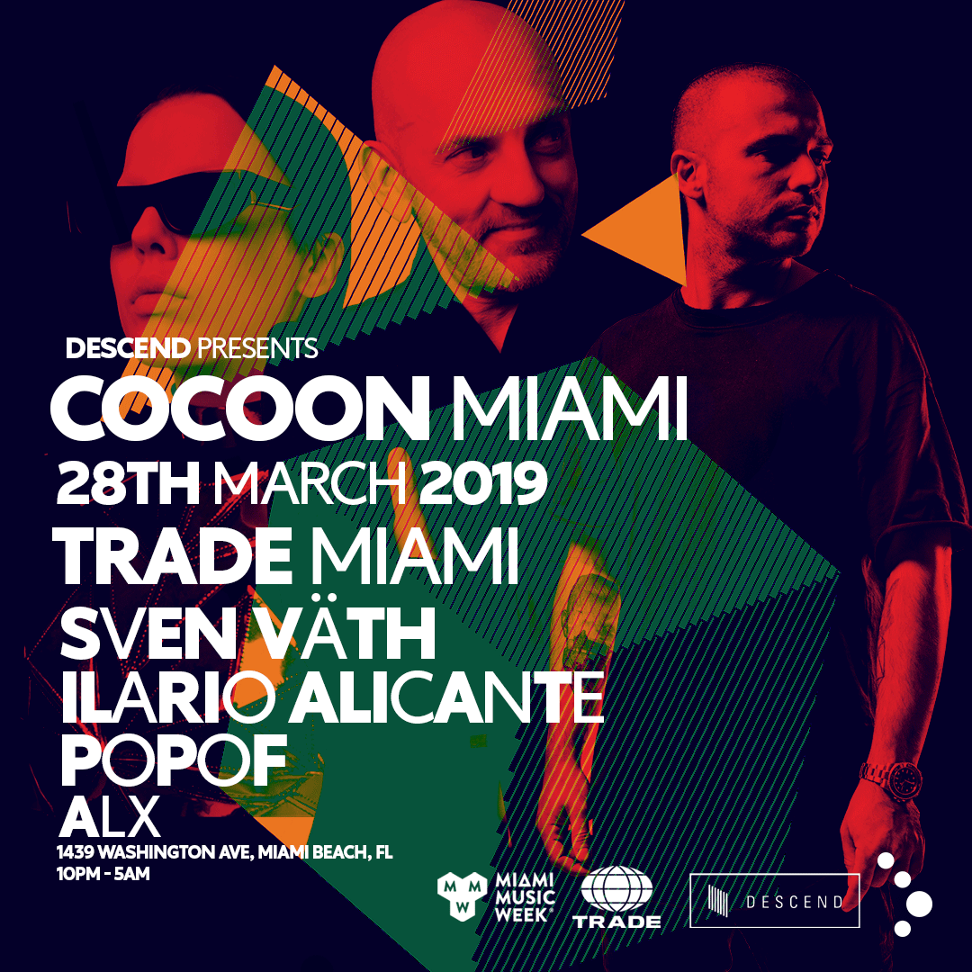 Cocoon Miami - 20th Anniversary Flyer