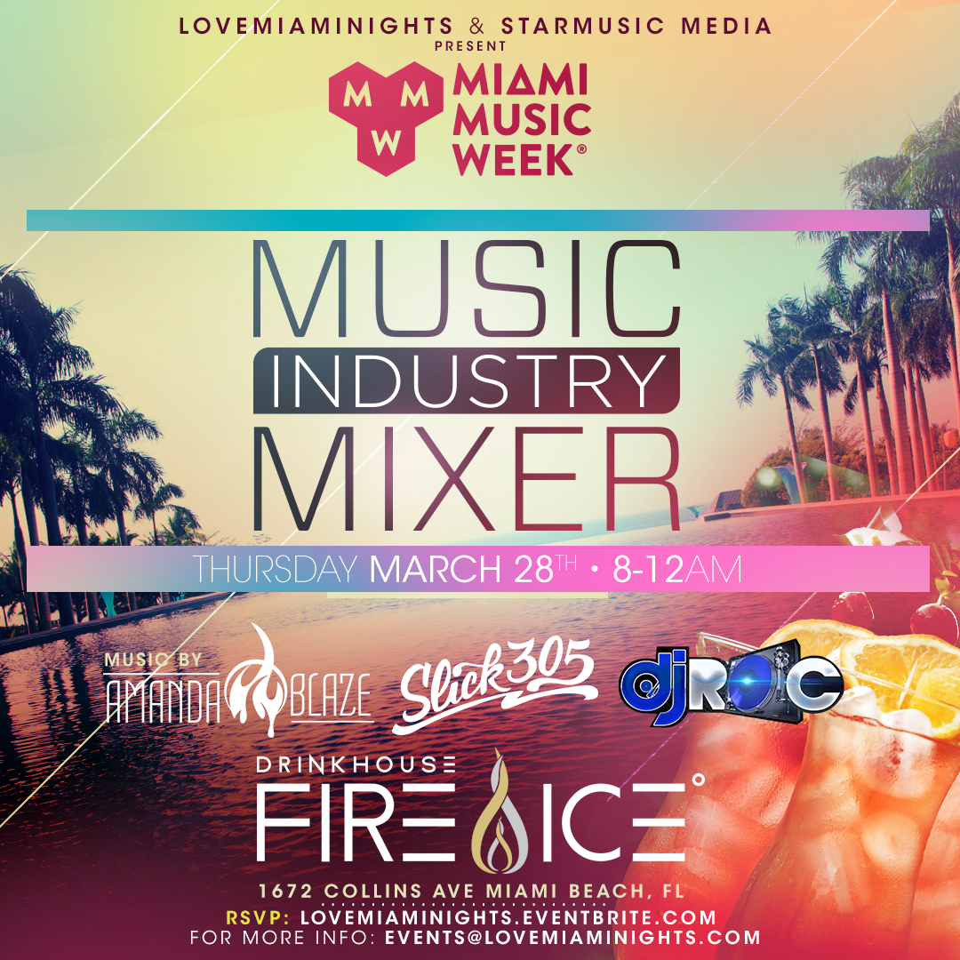 Music Industry Mixer Image