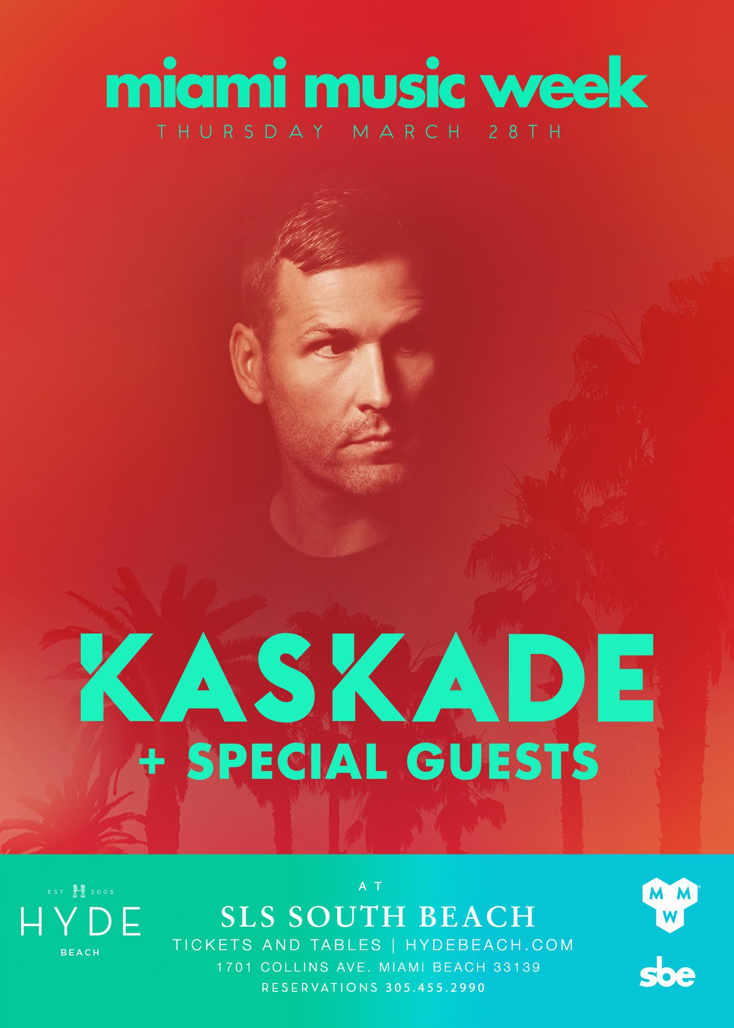 Miami Music Week 2019 - KASKADE + FRIENDS Image