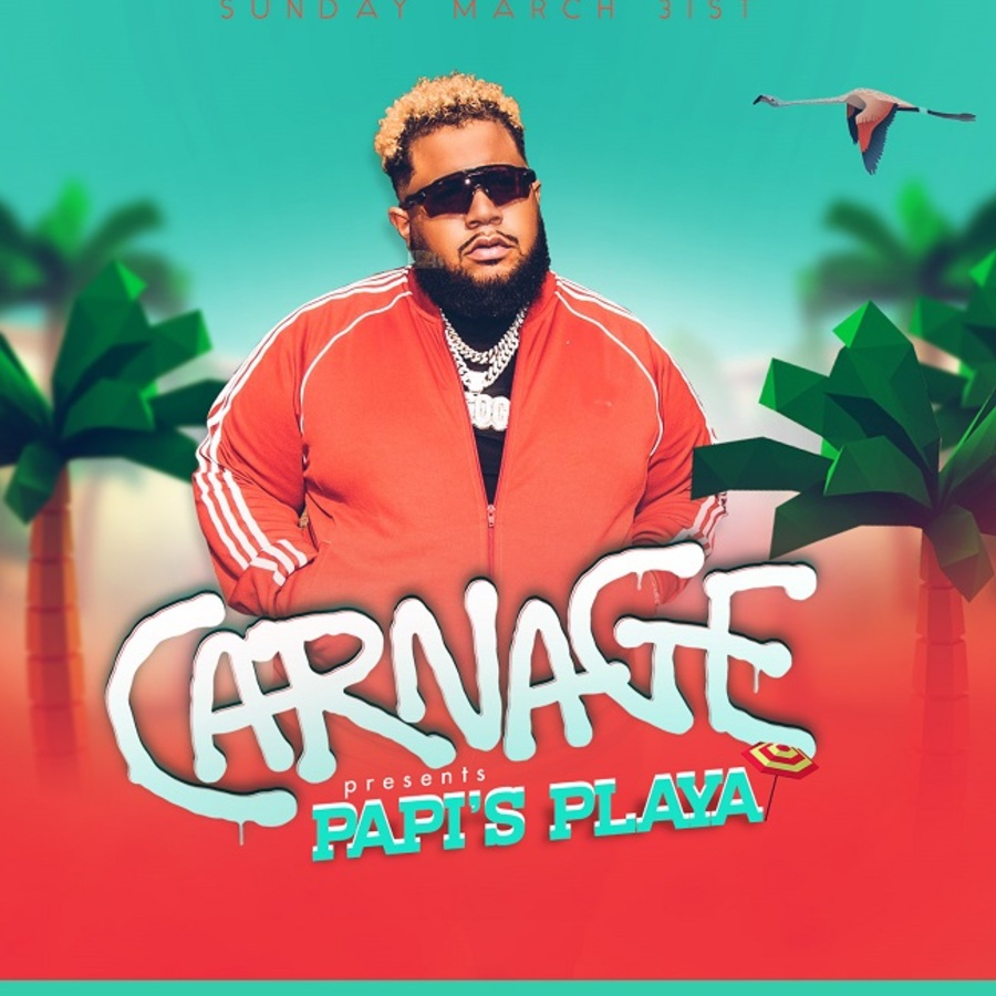 Miami Music Week - CARNAGE PRESENTS PAPI'S PLAYA Image
