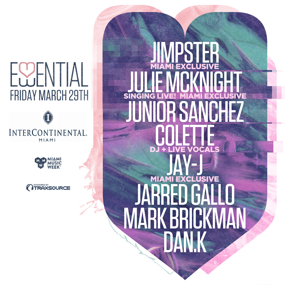 Essential Pool party w/ Jimpster, Julie McKnight, Junior Sanchez & More Image