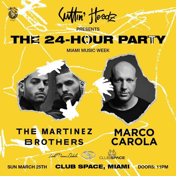 The Martinez Brothers + Marco Carola on the Space Terrace - 24hr Closing Party Image