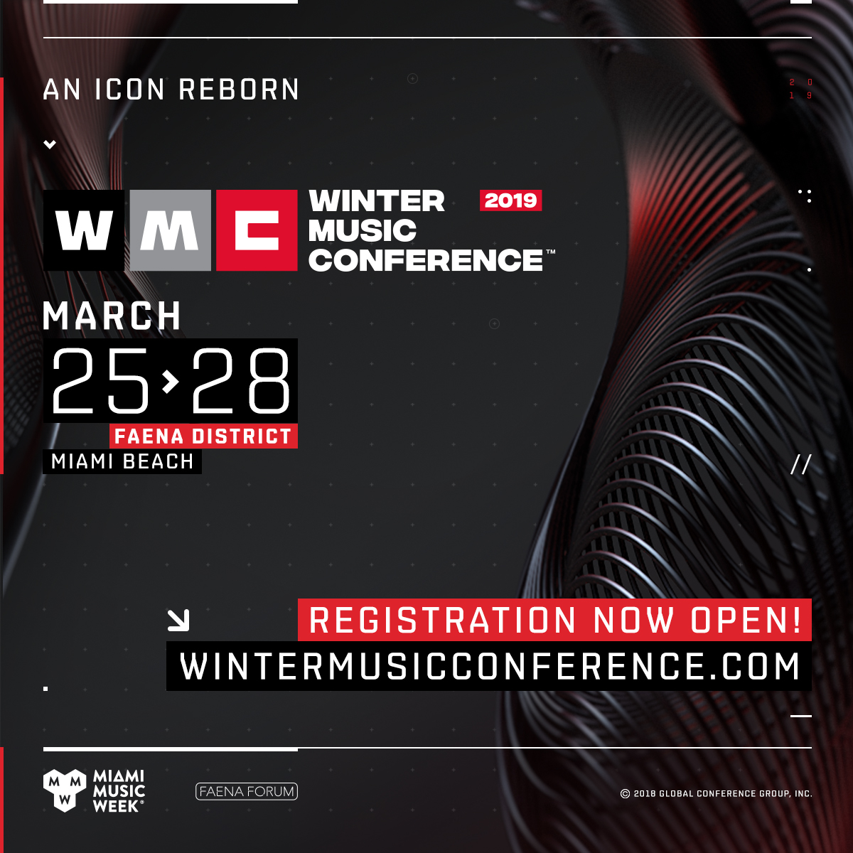 Winter Music Conference March 26th Image