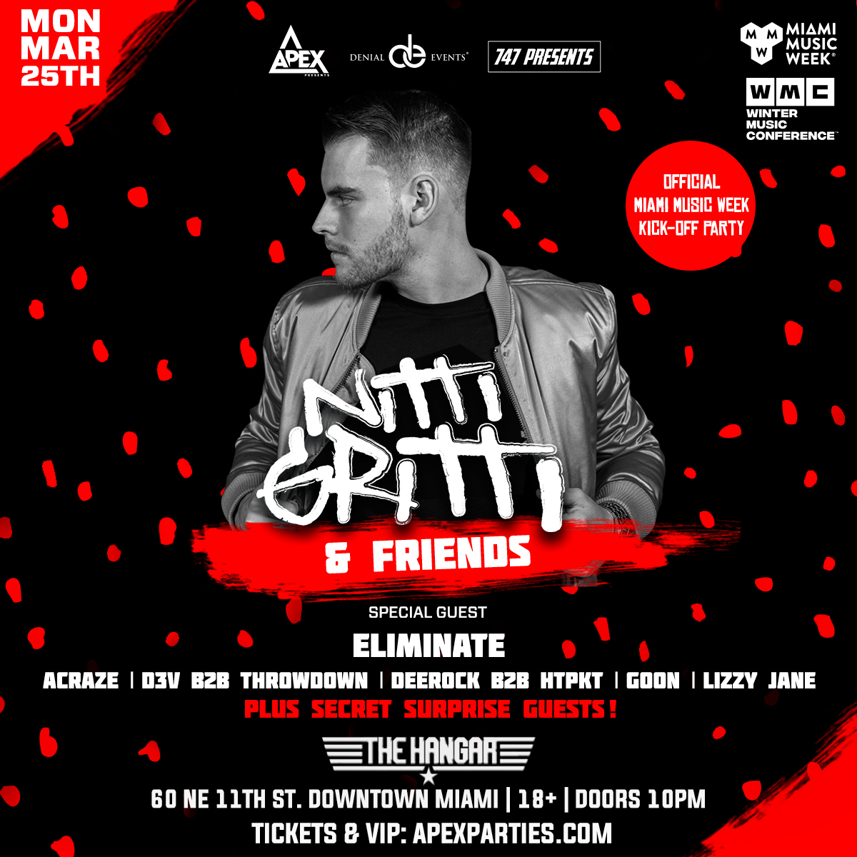 Nitti Gritti & Friends Flyer