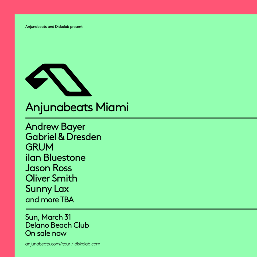 Anjunabeats | Miami Music Week 2019 Image