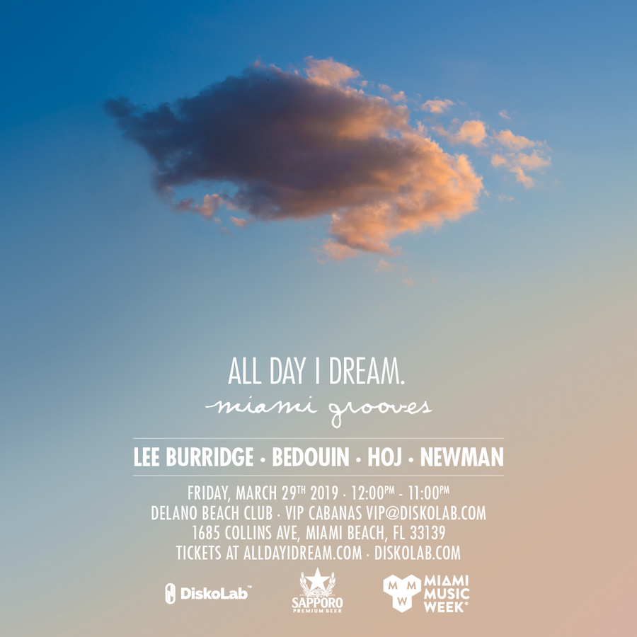 All Day I Dream - Miami Grooves Image