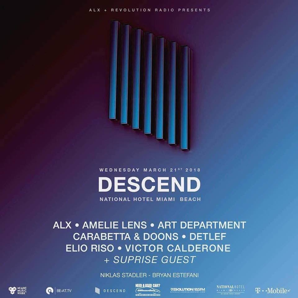 ALX + Revolution Radio present DESCEND Showcase Image
