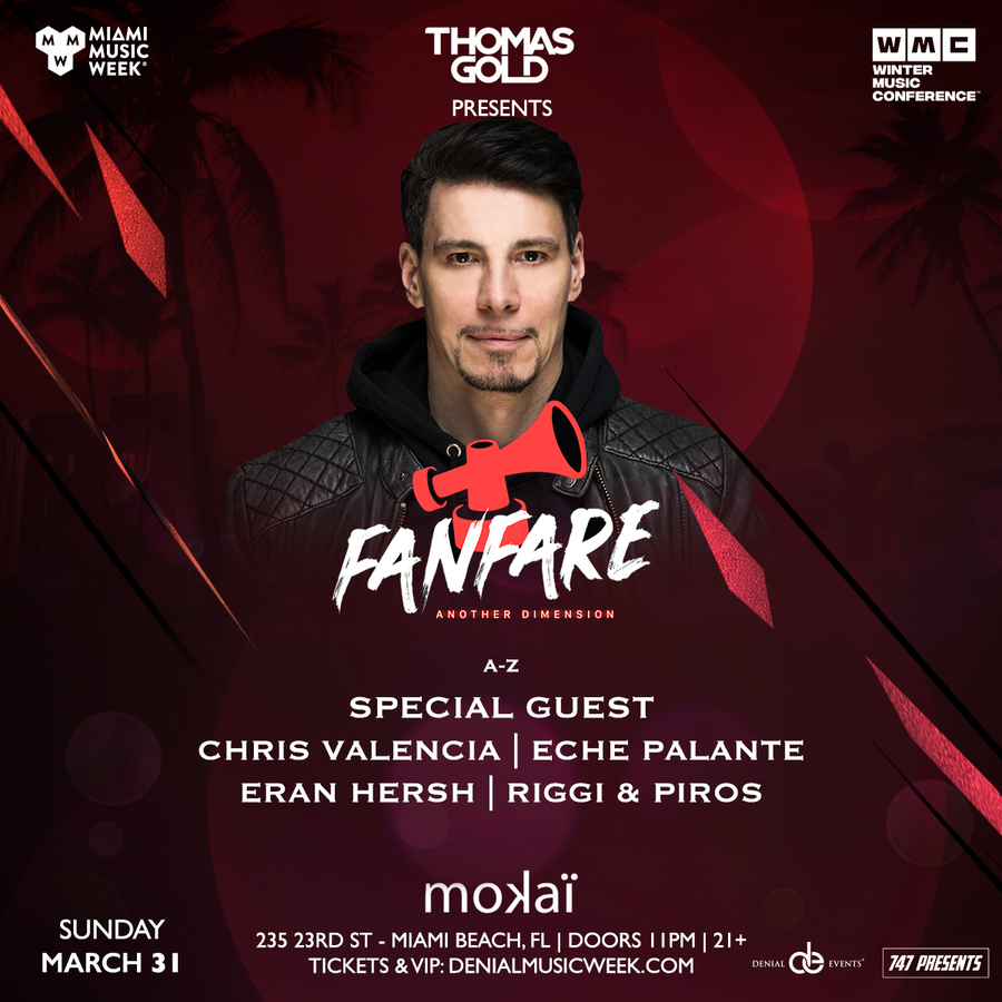 Thomas Gold presents Fanfare Image