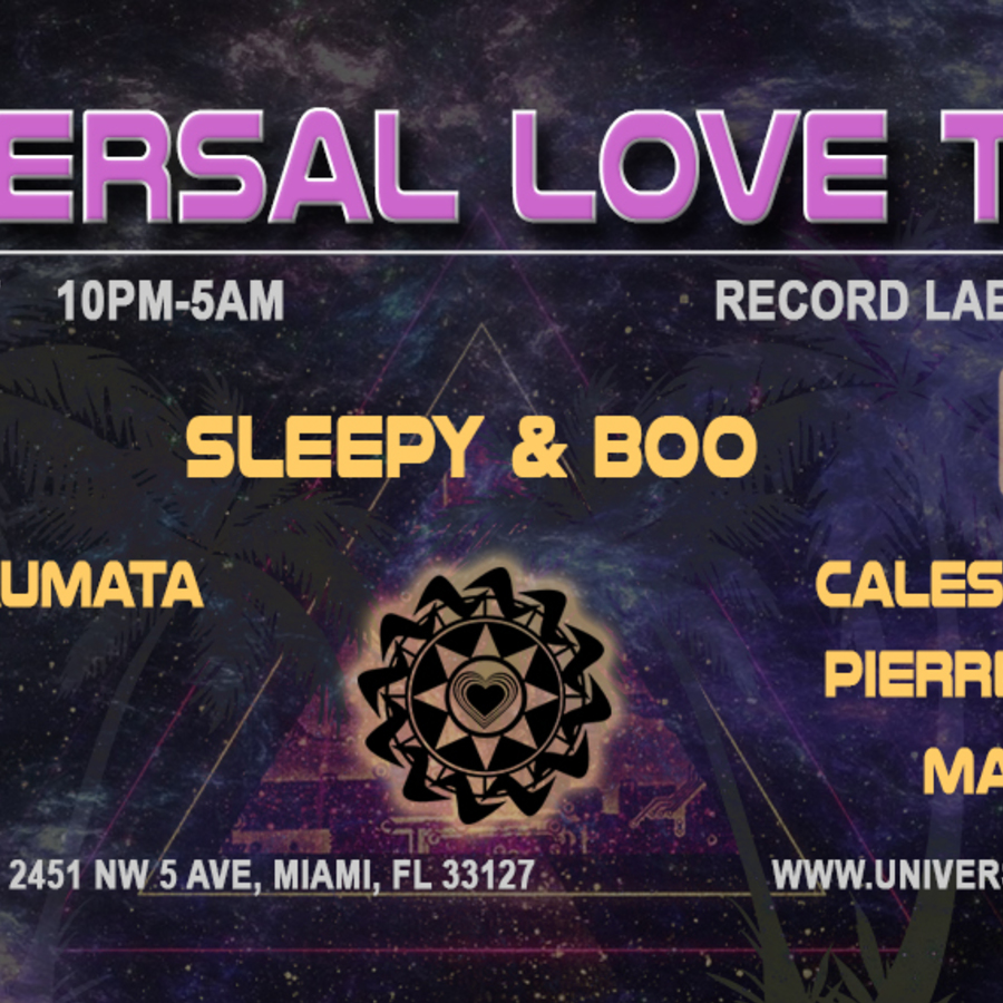 Universal Love Tribe Record Label Showcase Image