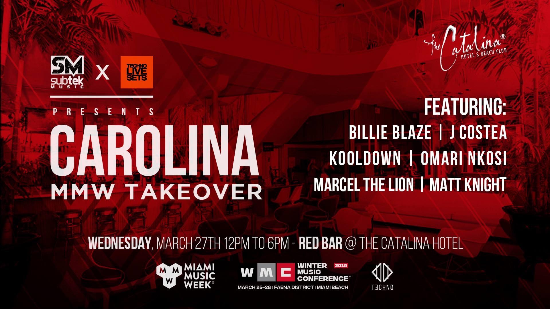 Subtek & Techno Live Sets Presents Carolina TakeOver Image