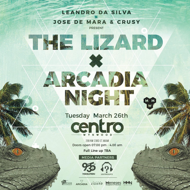 The Lizard x Arcadia Night Image