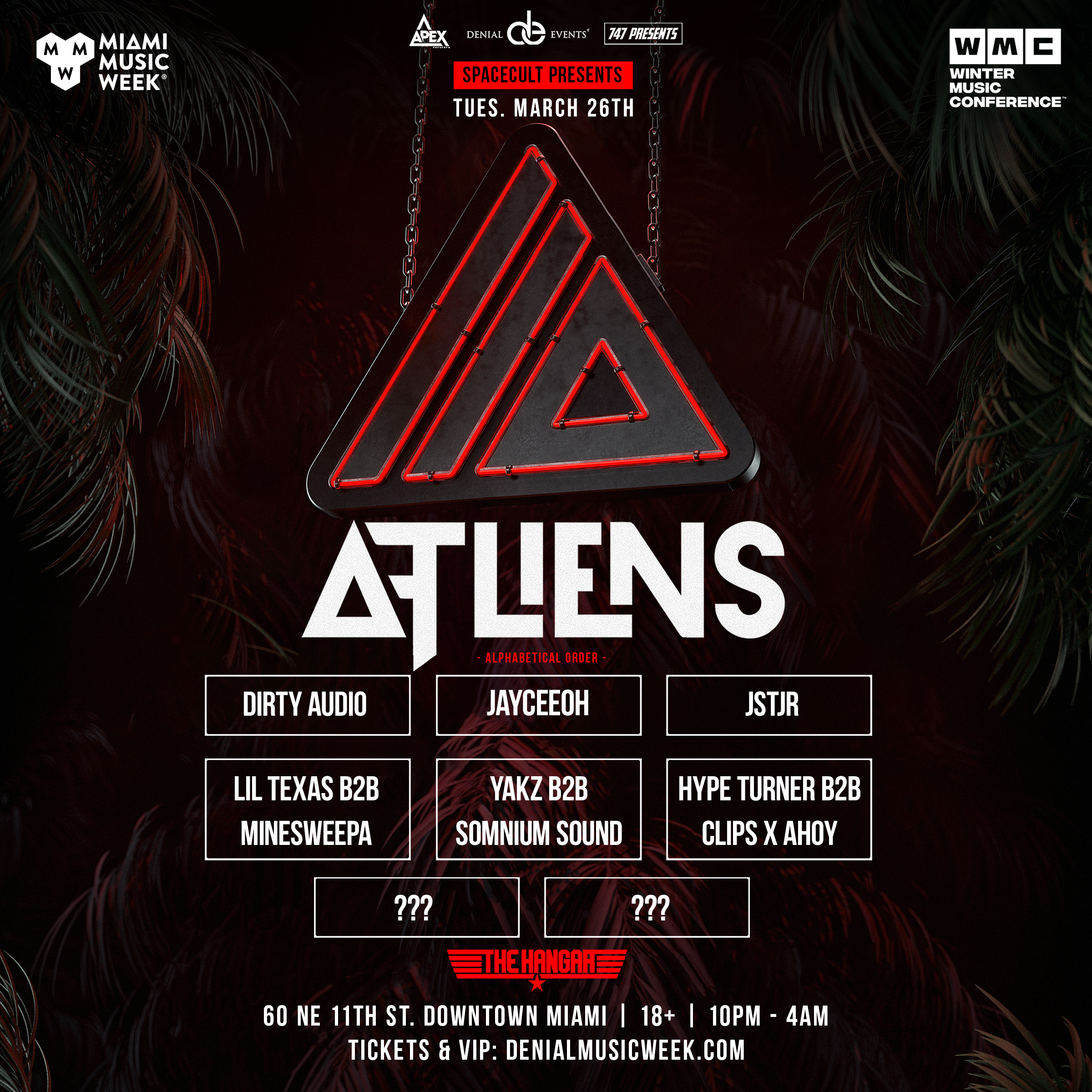 ATLiens Spacecult | Miami Flyer