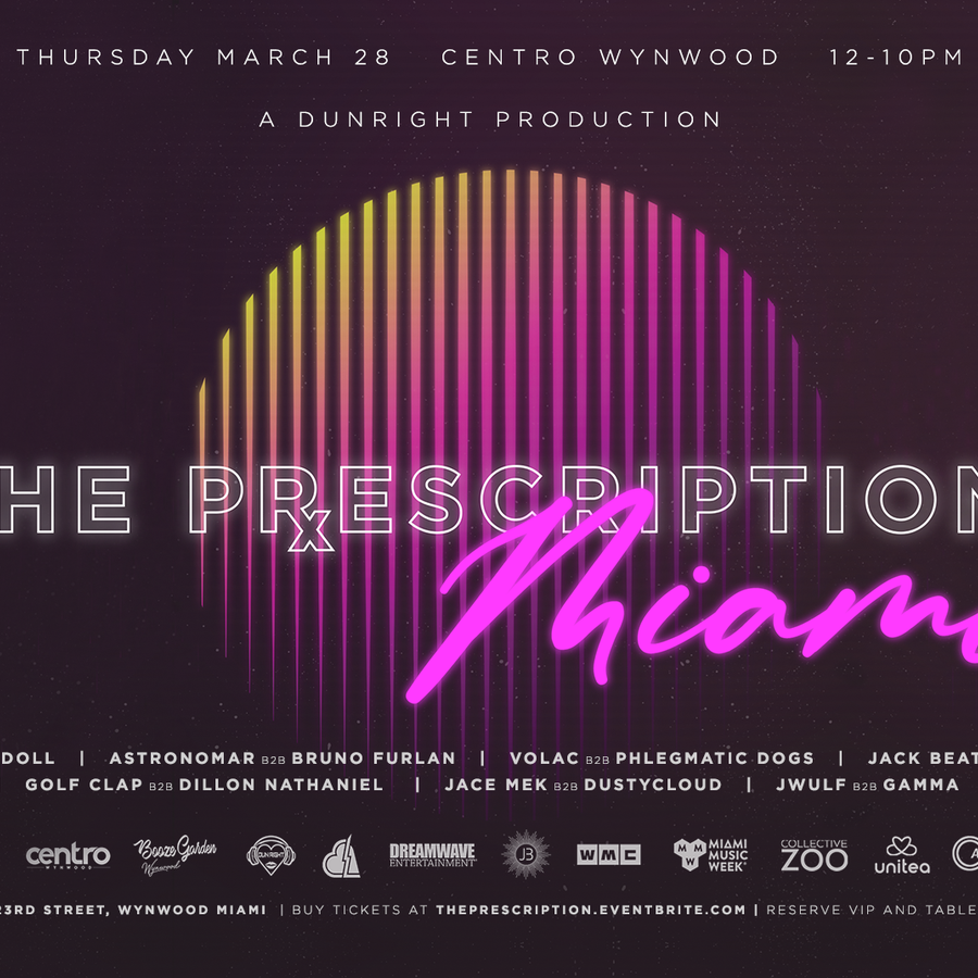 The Prescription Records Official Label Showcase Image
