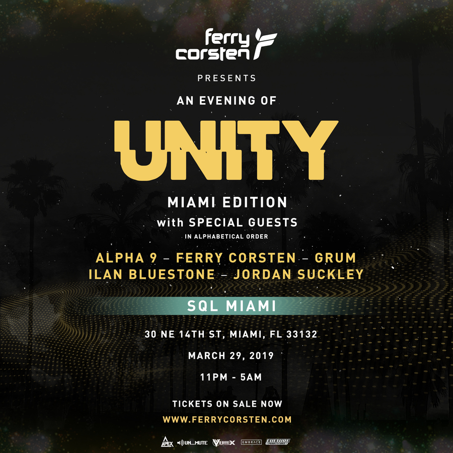 Ferry Corsten Presents an Evening of Unity Image