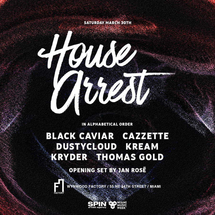 House Arrest feat. Kryder, Thomas Gold & Friends (West Room) Image