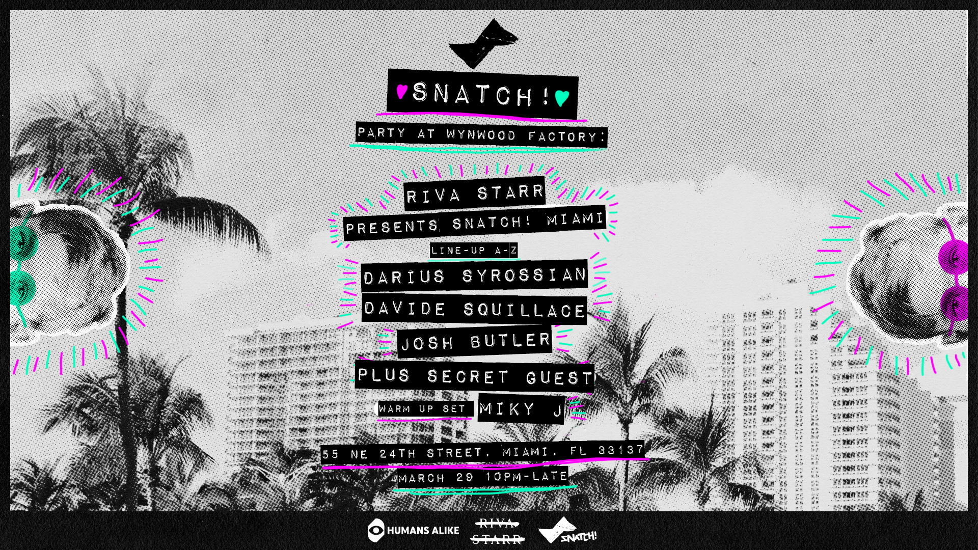 Riva Starr presents Snatch Miami (East Room) Image