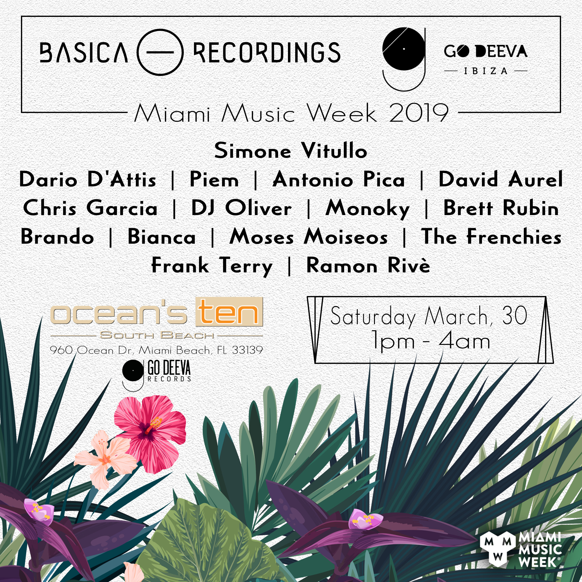 Basica and Go Deeva Ibiza Official Party Image