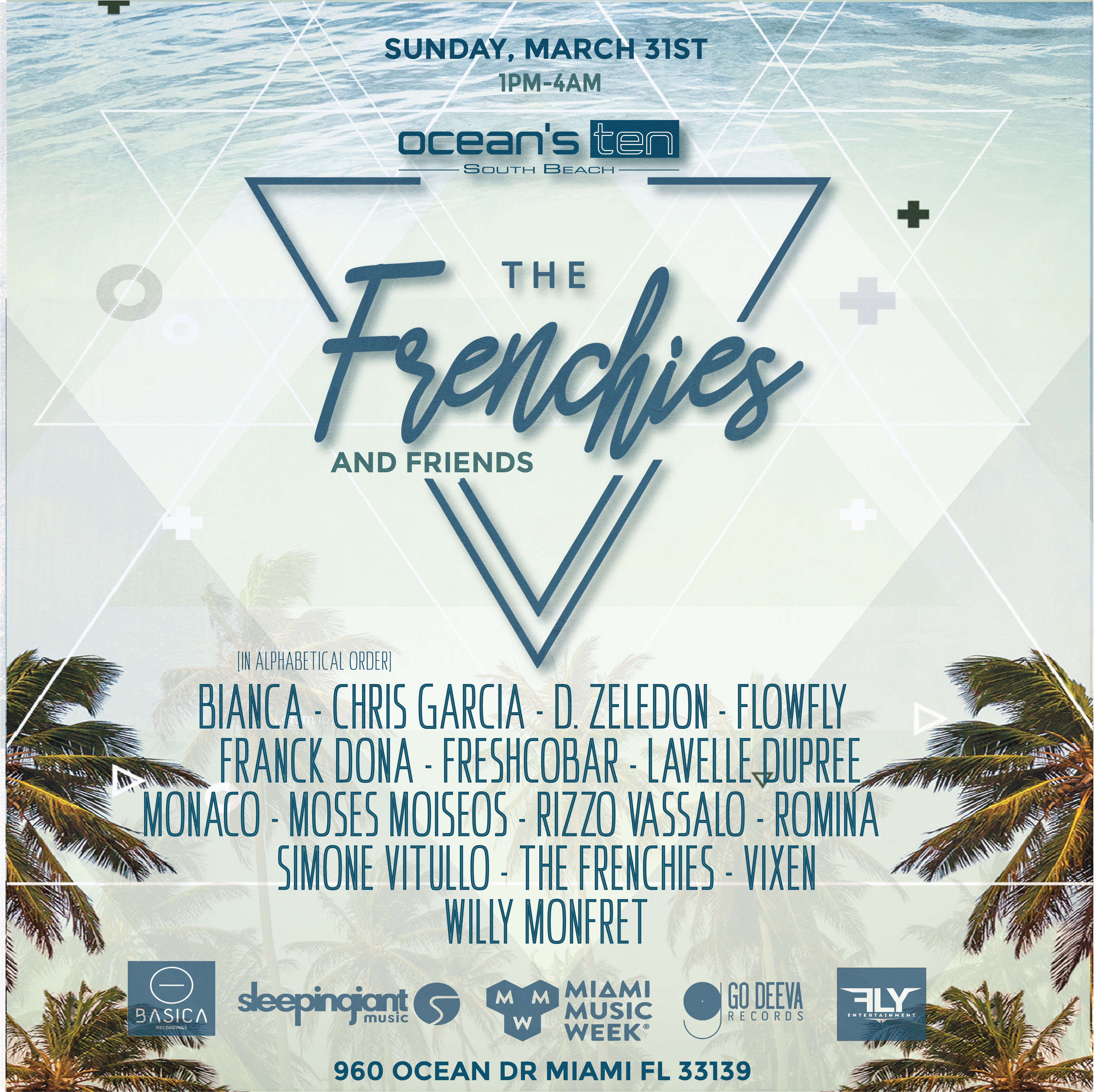 Fly Entertainment present: The Frenchies and friends Image
