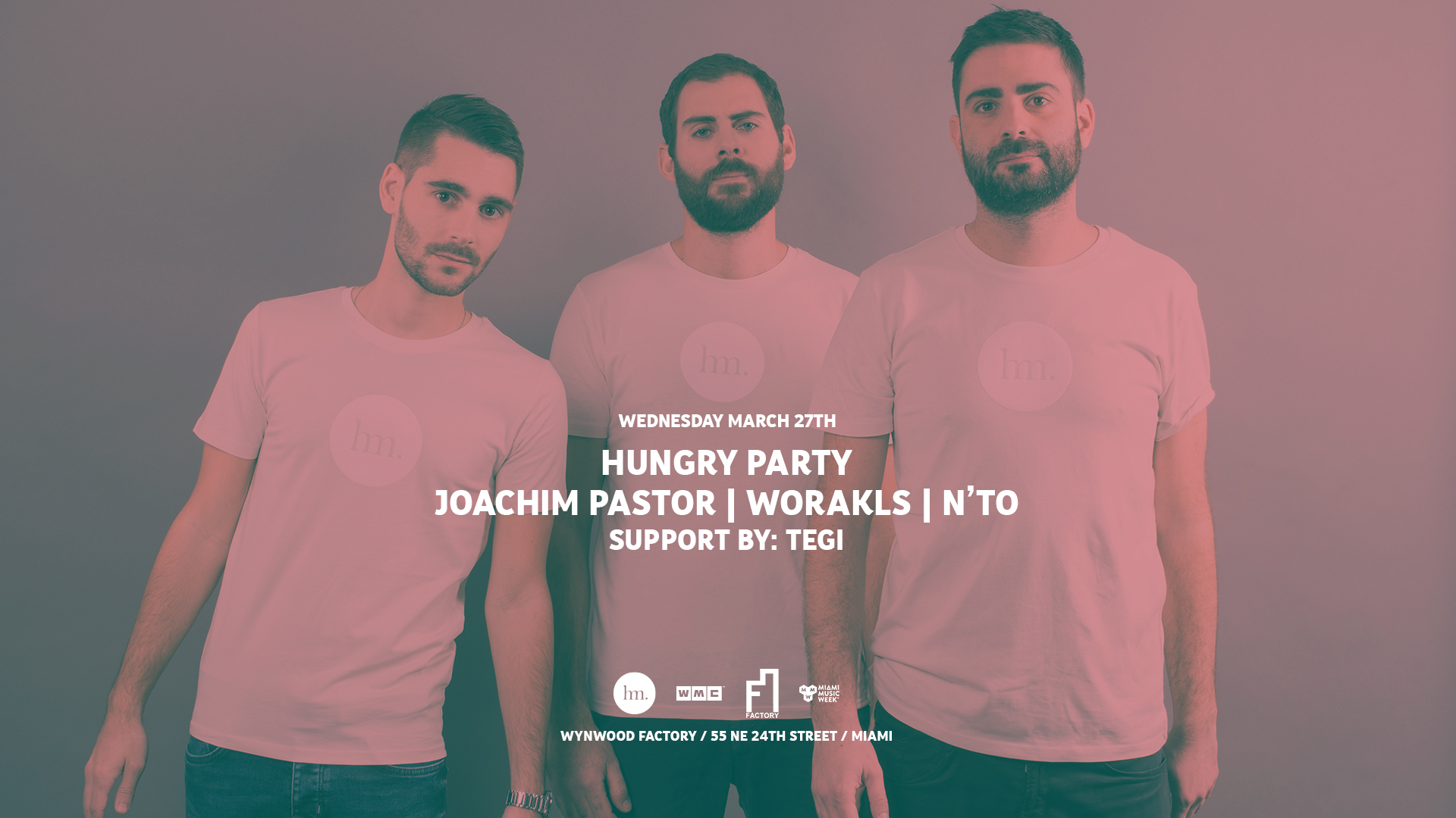 Hungry Party feat. Joachim Pastor - Worakls - N'to (East Room) Image