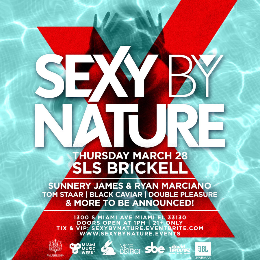 Sexy By Nature Pool Party Image