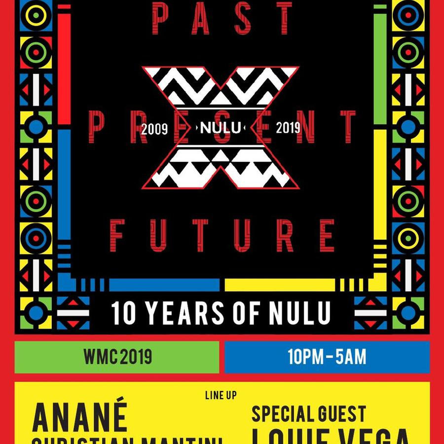 10 Years Of Nulu with Anané, Christian Mantini & Special Guest Louie Vega Image