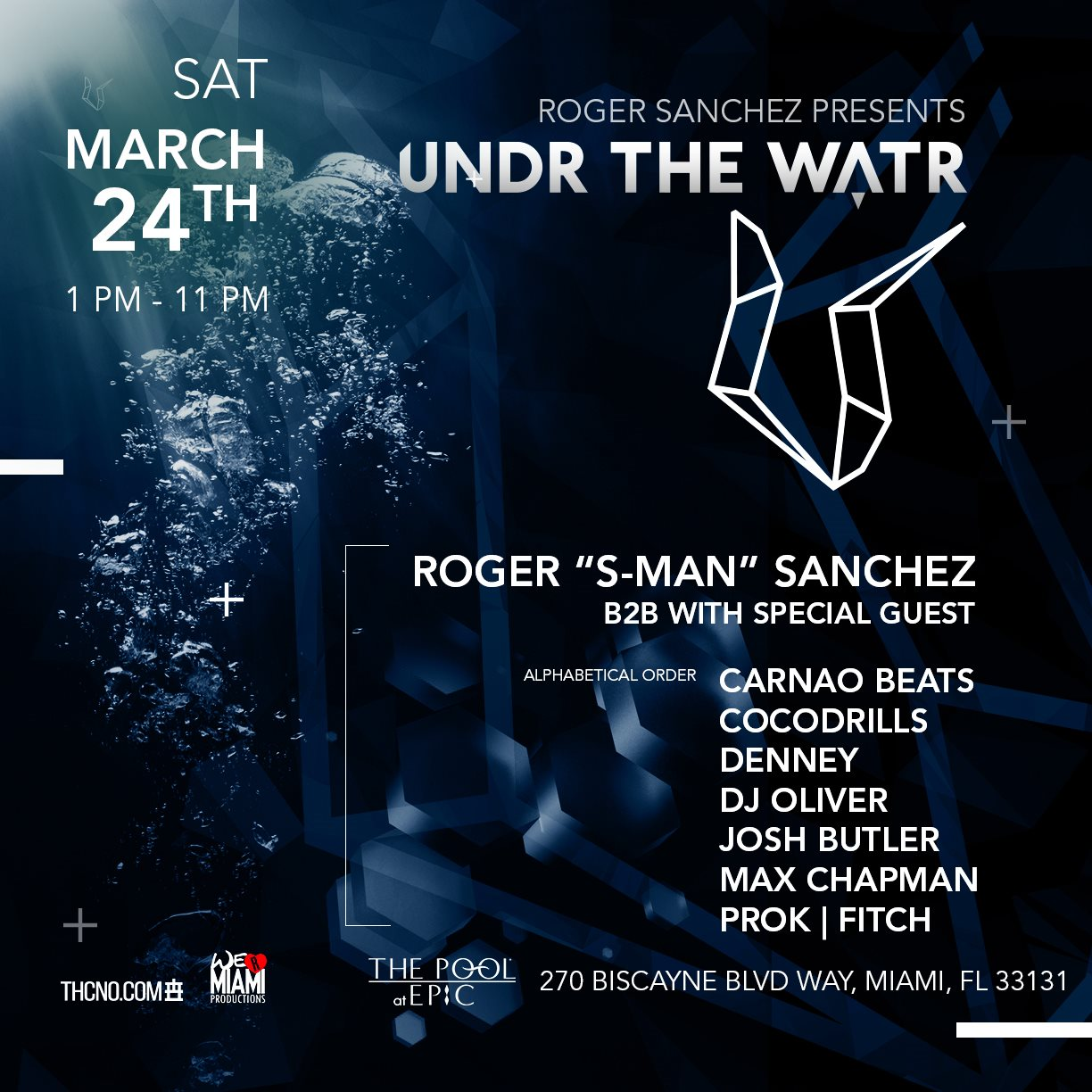 Undr The Watr by Roger Sanchez & Friends Image